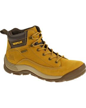 Caterpillar Southwark Waterproof Hiking Work Boots, Honey, hi-res