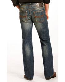 Rock & Roll Cowboy Men's Indigo Reflex Pistol Jeans - Straight Leg , , hi-res