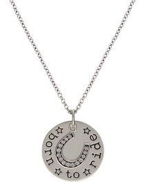 Montana Silversmiths Women's Born to Ride Necklace, , hi-res