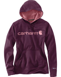 Carhartt Women's Signature Graphic Hoodie, , hi-res