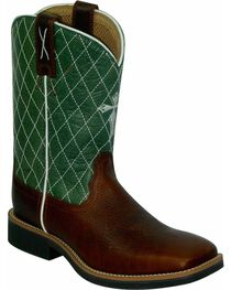 Twisted X Kid's Cowkid's Square Toe Work Boots, , hi-res