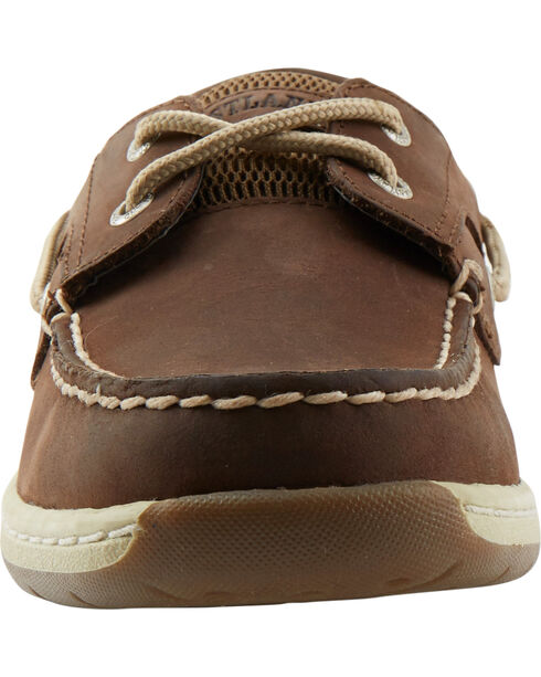 Eastland Women's Bomber Brown Solstice Boat Shoe Oxfords , Brown, hi-res