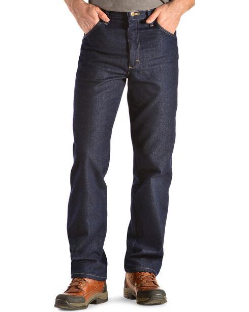 Wrangler Men's Rugged Wear Stretch Jeans, Indigo, hi-res