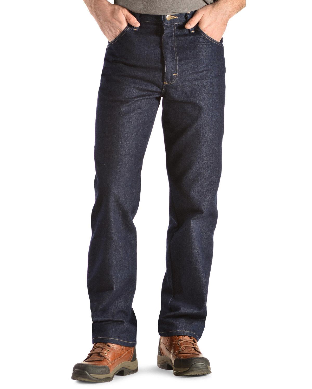 Wrangler Menu0027s Rugged Wear Stretch Jeans, Indigo, Hi Res
