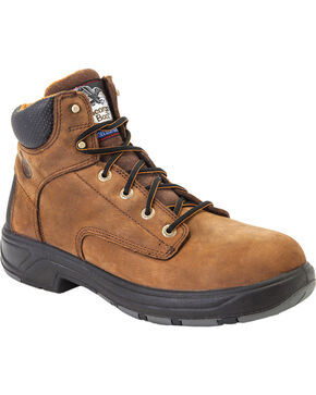 Georgia Men's Composite Toe FLXpoint Work Boots, Brown, hi-res