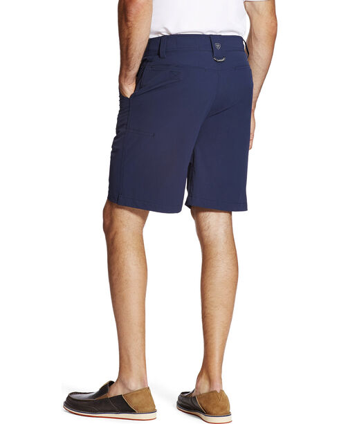 Ariat Men's Tek Airflow Shorts, Navy, hi-res