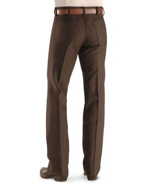 Wrangler Wrancher Dress Jeans, Brown, hi-res