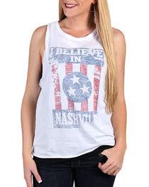 "I.O.C. Women's ""Believe in Nashville"" Muscle Tank , , hi-res"