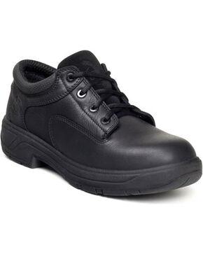 Georgia Men's FLXpoint Oxford Shoes - Round Toe, Black, hi-res