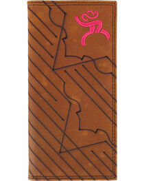 HOOey Men's Roughy Rodeo Embroidered Wallet, , hi-res