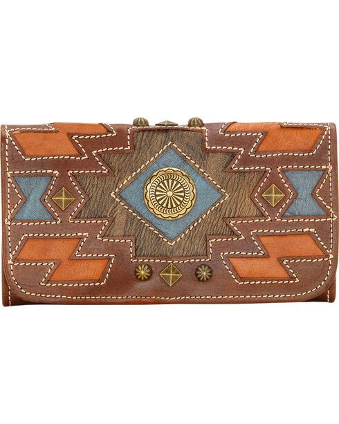 American West Women's Zuni Passage Wallet, , hi-res