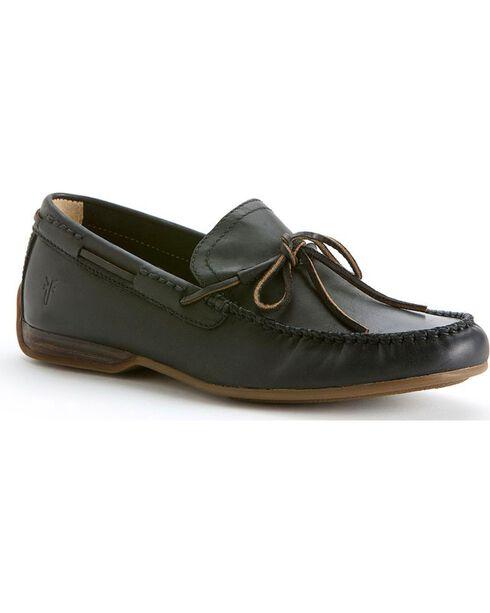 Frye Men's Lewis Tie Shoes, Black, hi-res