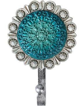 BB Ranch® Medallion Wall Hook , Turquoise, hi-res