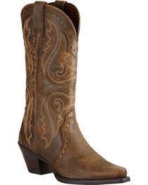 Ariat Women's Heritage X Snip Toe Western Boots, , hi-res