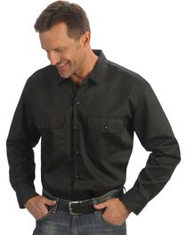 Dickies Twill Work Shirt - Big & Tall, , hi-res