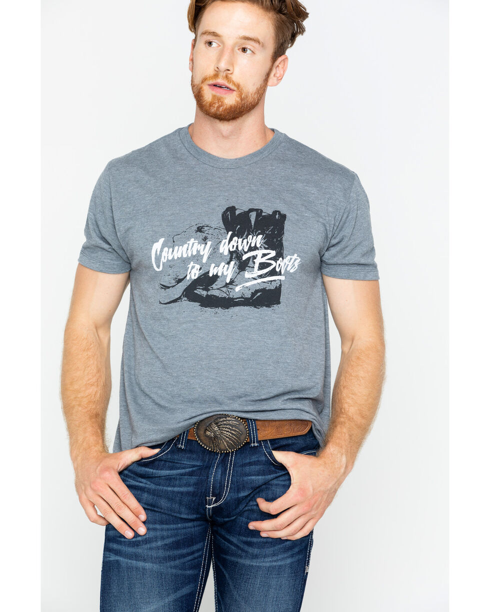 Cody James Country Down To My Boots Short Sleeve T-Shirt, , hi-res