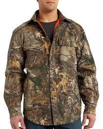 Carhartt Men's Wexford Realtree Xtra® Camo Shirt Jacket, , hi-res