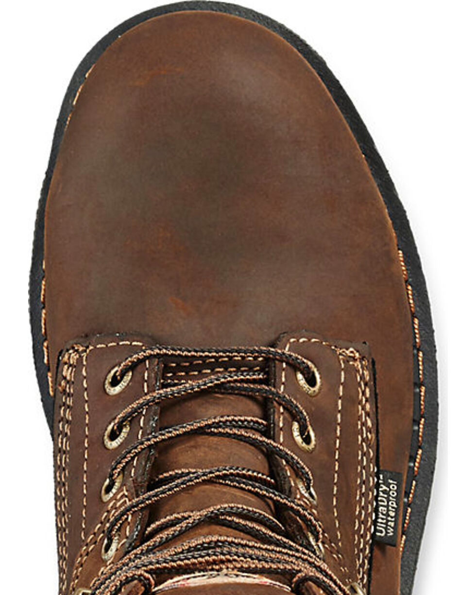 """Irish Setter by Red Wing Shoes Men's Ramsey 8"""" Work Boots - Safety Toe , Brown, hi-res"""