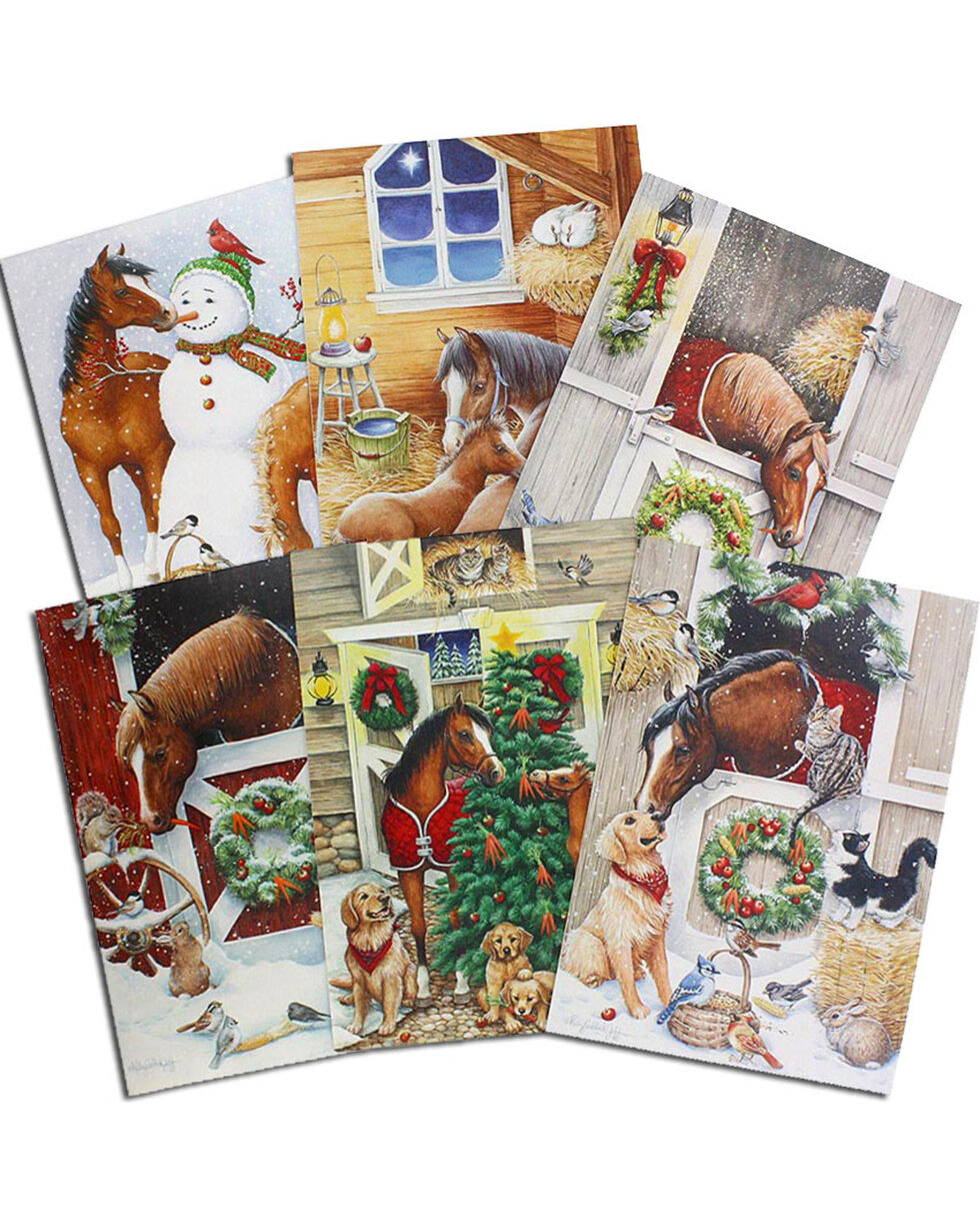 Away In A Stable Christmas Card Assortment , No Color, hi-res