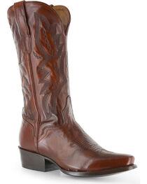 El Dorado Men's Square Toe Vanquished Calf Western Boots, , hi-res
