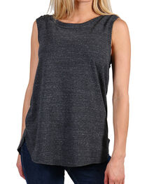 Shyanne Women's Black Boxy Knit Tank, , hi-res
