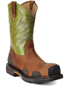 Ariat Men's Overdrive Composite Toe, Toast, hi-res