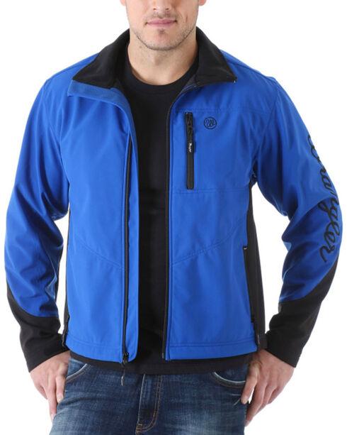 Wrangler Men's Water Resistant Trail Jacket, Blue, hi-res