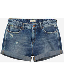 Wrangler Women's 70th Anniversary Boyfriend Shorts, , hi-res
