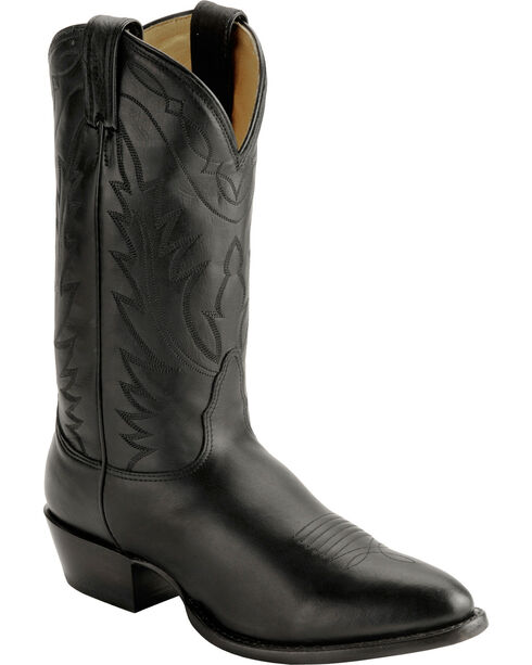 Nocona Men's Cowboy Western Boots, Black, hi-res