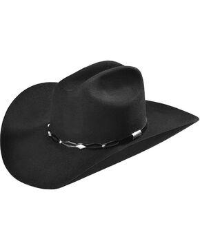 Stetson 6X Fur Felt Brimstone Cowboy Hat, Black, hi-res