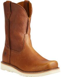 Ariat Men's Rambler Recon Brown Work Boots - Square Toe, , hi-res