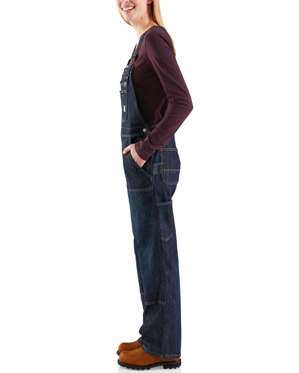 Carhartt Women's Brewster Double-Front Bib Overalls, , hi-res