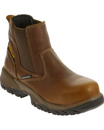CAT Women's Veneer Waterproof Composite Toe Work Boots, , hi-res