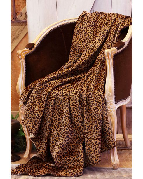 Carstens Leopard Throw Blanket, Multi, hi-res