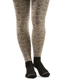 Bootights Women's Lilith Scroll Boot Tights, , hi-res