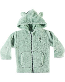 Browning Infant Girls' Green Teddy Bear Jacket , , hi-res