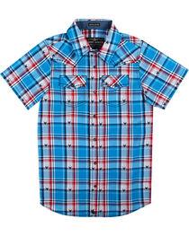 Cody James® Boys'  Bushwacker Short Sleeve Shirt, , hi-res