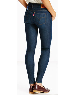 Levi's Women's 711 4-Way Stretch Jeans - Skinny , Indigo, hi-res