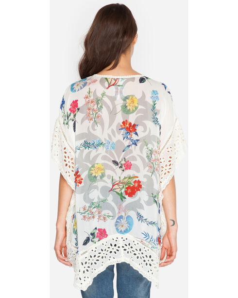 Johnny Was Women's Boho Poncho, Print, hi-res