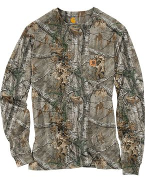 Men's Realtree Xtra® Camo Long-Sleeve T-Shirt, Camouflage, hi-res