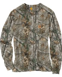 Carhartt Realtree Xtra® Camo Long Sleeve T-Shirt - Big & Tall, , hi-res