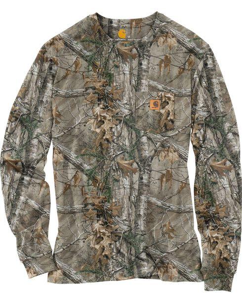 Carhartt Realtree Xtra® Camo Long Sleeve T-Shirt - Big & Tall, Camouflage, hi-res