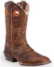 Justin Men's Silver Collection Buckaroo Western Boots, , hi-res