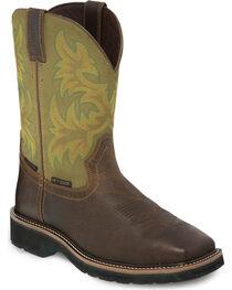 Justin Men's Keavan Steel Toe Western Work Boots, , hi-res