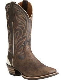 Ariat Men's Fire Creek Branding Iron Boots - Square Toe , , hi-res