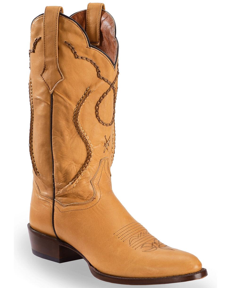 Dan Post Men's Albany Western Boots, Camel, hi-res