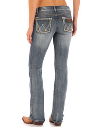 Wrangler Retro Women's Indigo Pocket with Stitch Sadie Jeans - Boot Cut , , hi-res