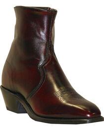 """Abilene Men's 7"""" Western Zip Boots, , hi-res"""