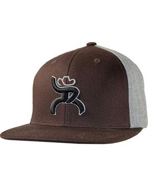 HOOey Men's HOOey Logo Ball Cap, Brown, hi-res