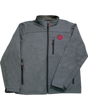 Hooey Boys' Grey Crimson Fleece Lining Jacket , Grey, hi-res